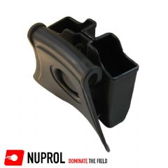 Nuprol Double Magazine Pouch For Airsoft WE G17, G18, G-Series